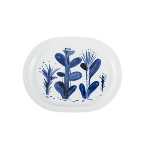 Giovanna Lopalco - Blue forest serving tray - Photo © Andrea Rodríguez